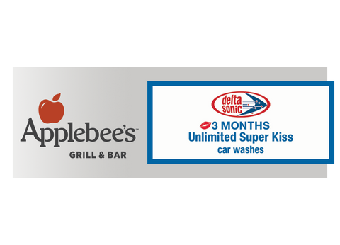 3 Months Unlimited Super Kiss and FREE Dinner at Applebee's