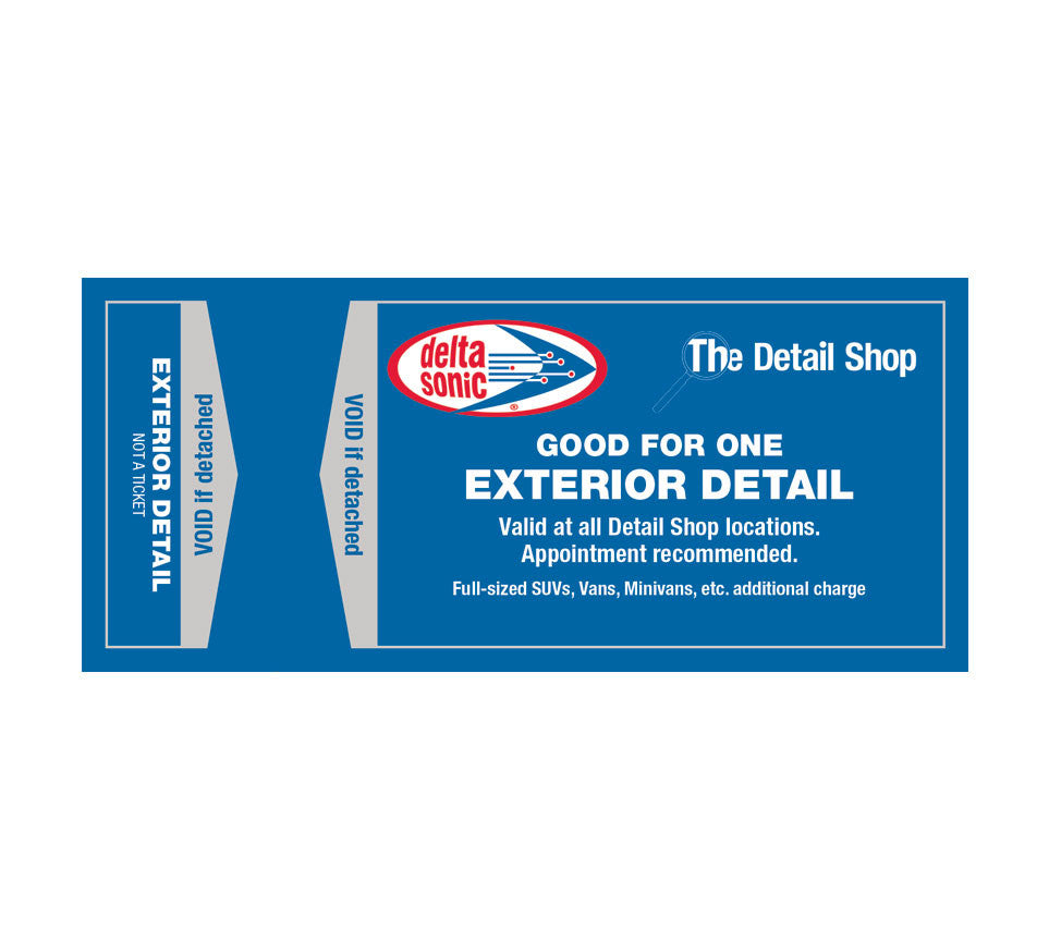 Exterior Detail Ticket