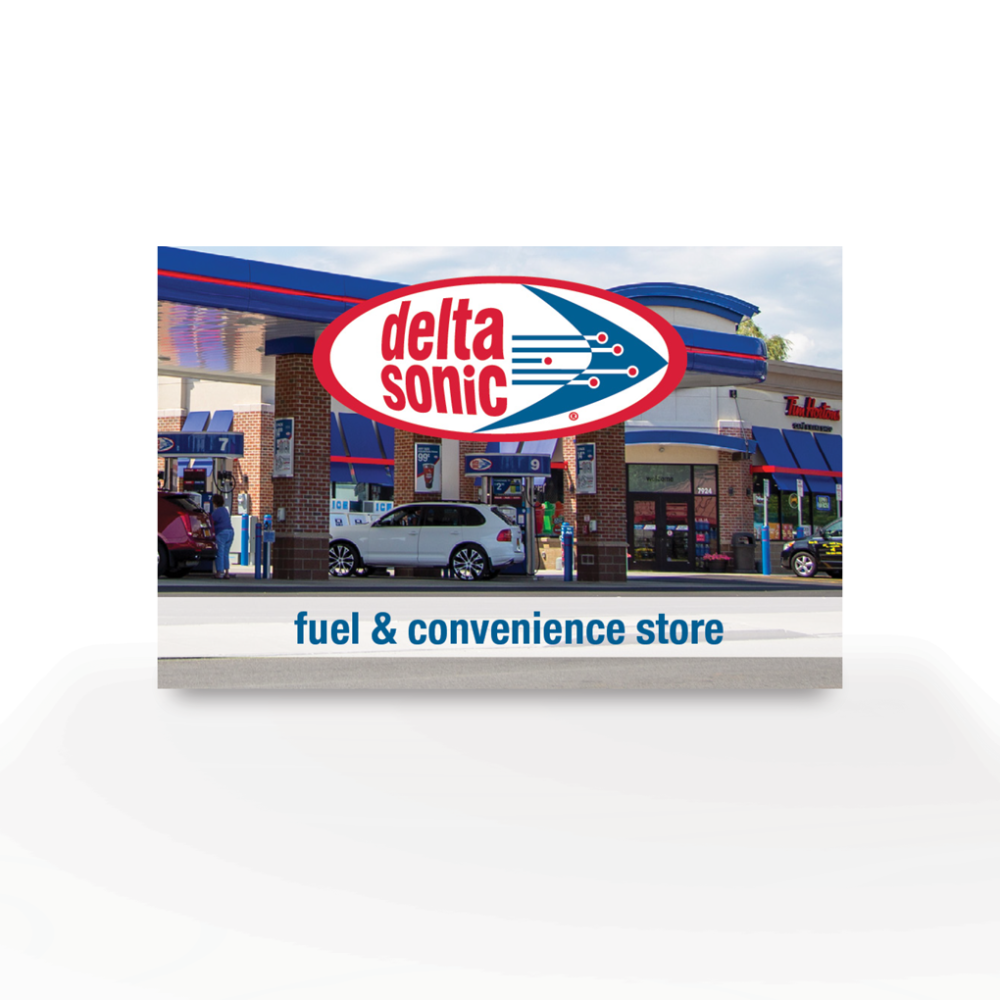 Delta Sonic Fuel and C-Store Gift Card