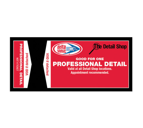 Professional Detail Ticket