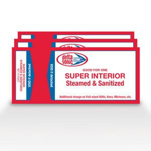 3 Pack of Super Interior Cleanings