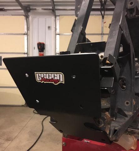 CAN AM RENEGADE G2 RACE / NON-WINCH BULLDOZER BUMPER MOUNT
