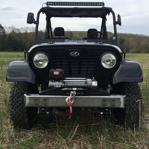 "DIY ""YOU WELD"" ROXOR STUBBY BUMPER - 42"" WIDE"
