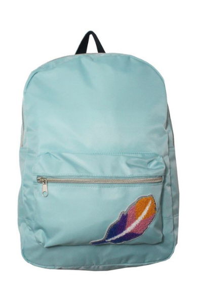Varsity Couture Backpack in Blue