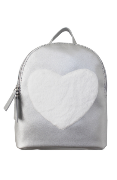 Love Furever Backpack in Silver