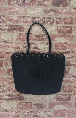 Vienna Tote in Black