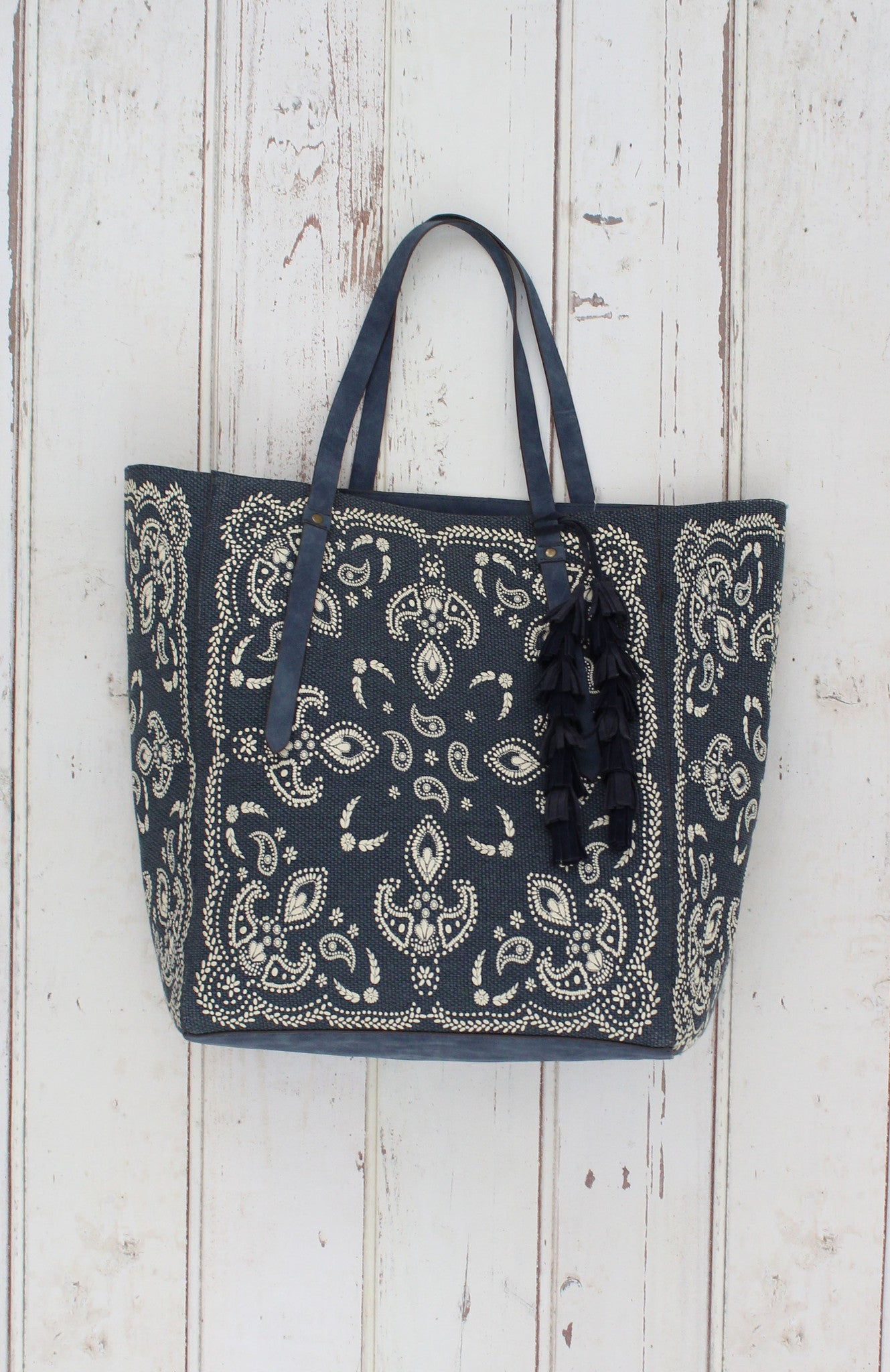 Moonshine Tote in Blue