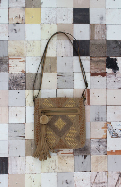 Natural Instincts Crossbody in Tan