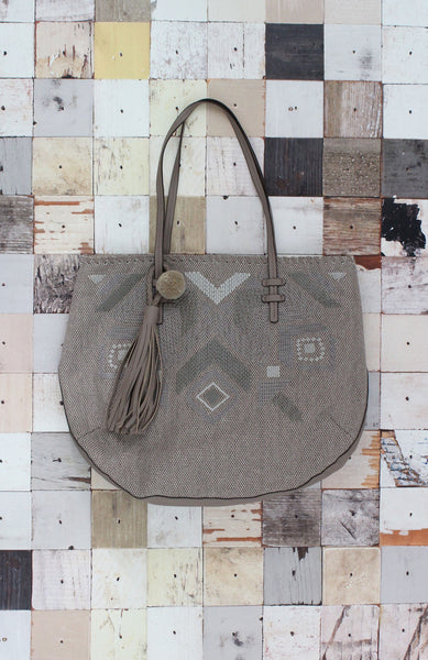 Natural Instincts Tote in Taupe