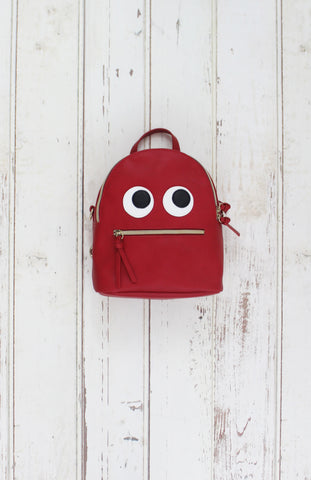 Monster Backpack in Red