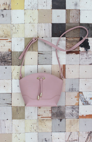 Isabella Crossbody in Blush