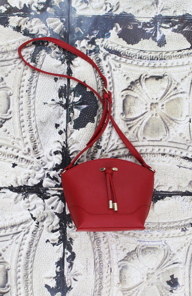 Isabella Crossbody in Red