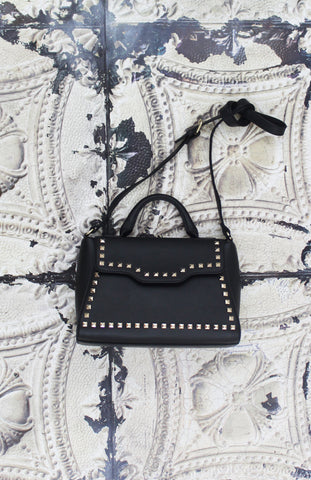 Sophia Satchel in Black