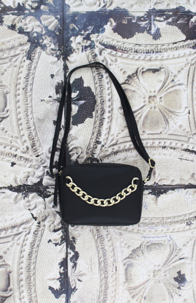 Riley Crossbody in Black