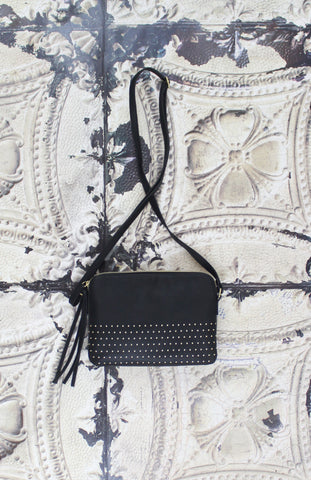 Avery Crossbody in Black
