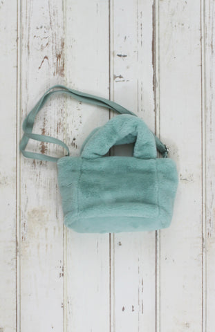 Cotton Candy Tote in Mint