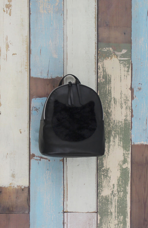 Just Kitten Backpack in Black