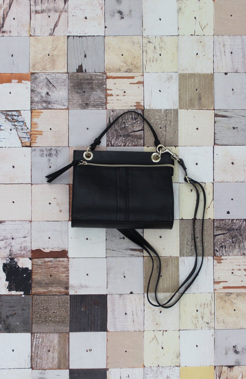 Diana Mini Satchel in Black