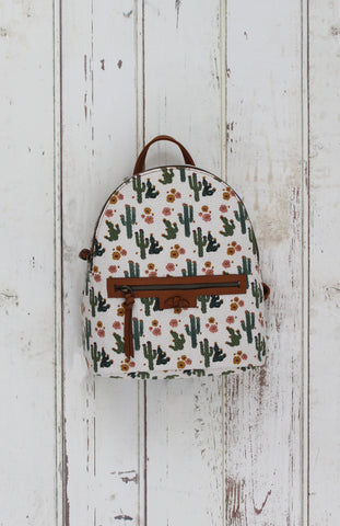 Audrie Backpack in Cactus Cognac