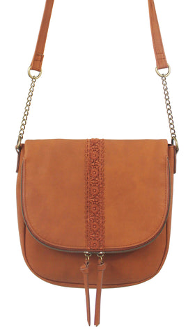 Just Kitten Canteen Crossbody in Blush