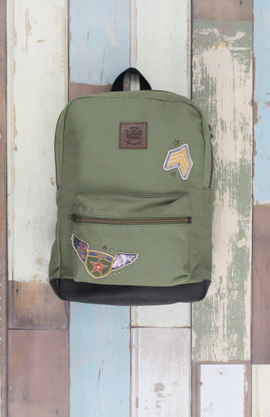 Utility Pack Backpack in Olive