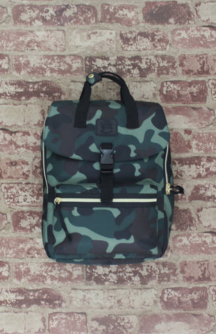 Happy Camper Backpack in Camo