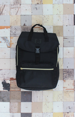 Happy Camper Backpack in Black