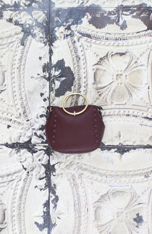 Aubrey Ring Handle Crossbody