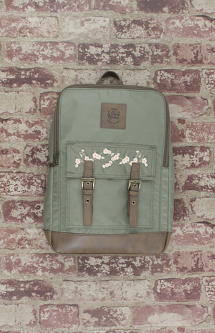 Sergeant Blossom Backpack in Olive