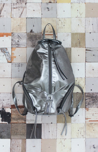 Emma Backpack in Silver