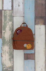 Jackie Backpack in Cognac