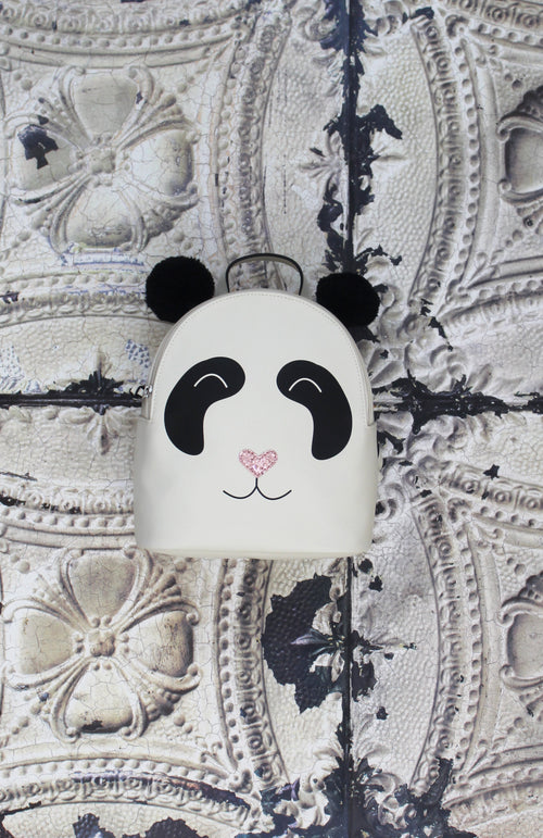 Bao Panda Backpack in White