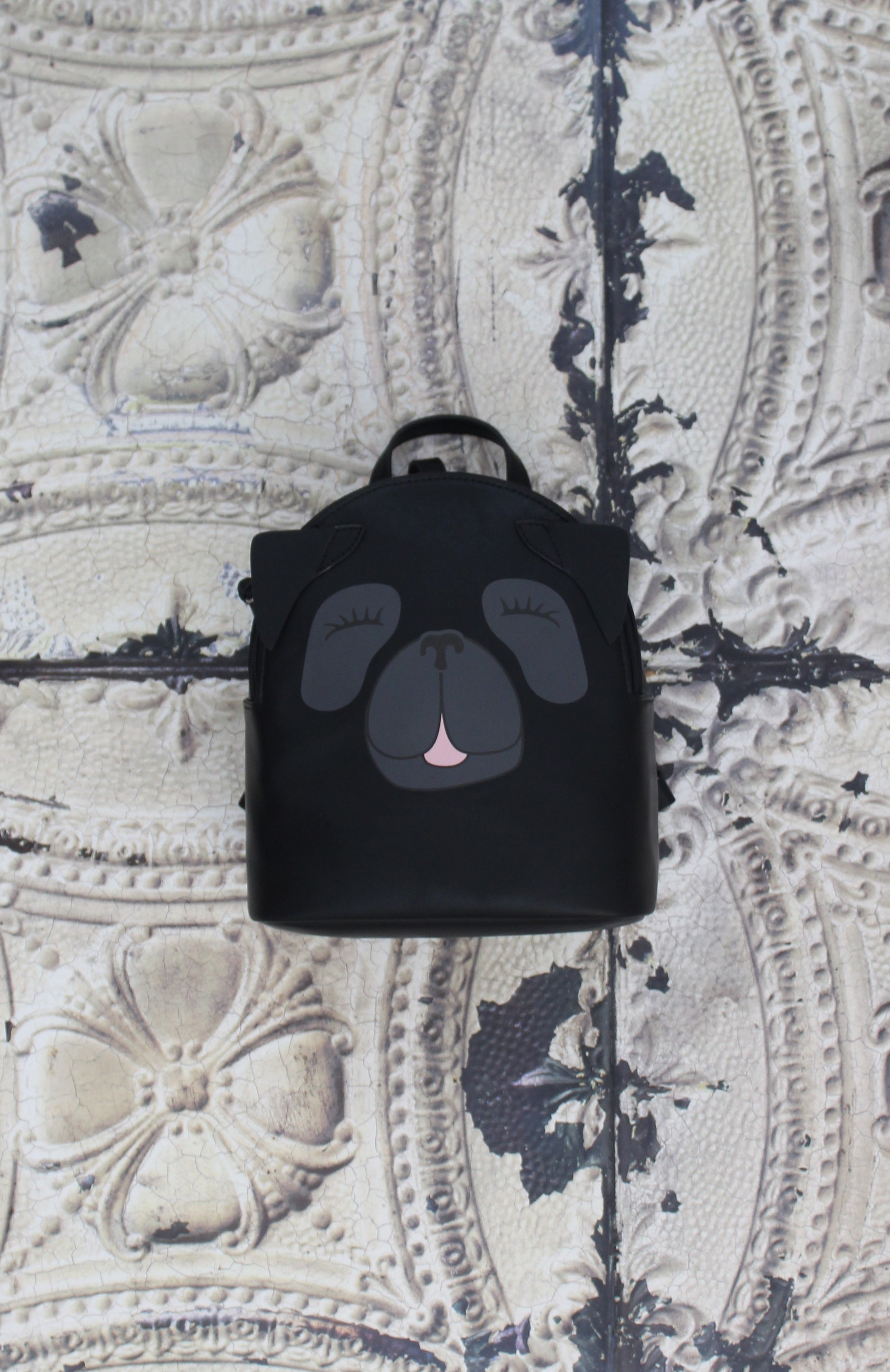 Pug Backpack in Black