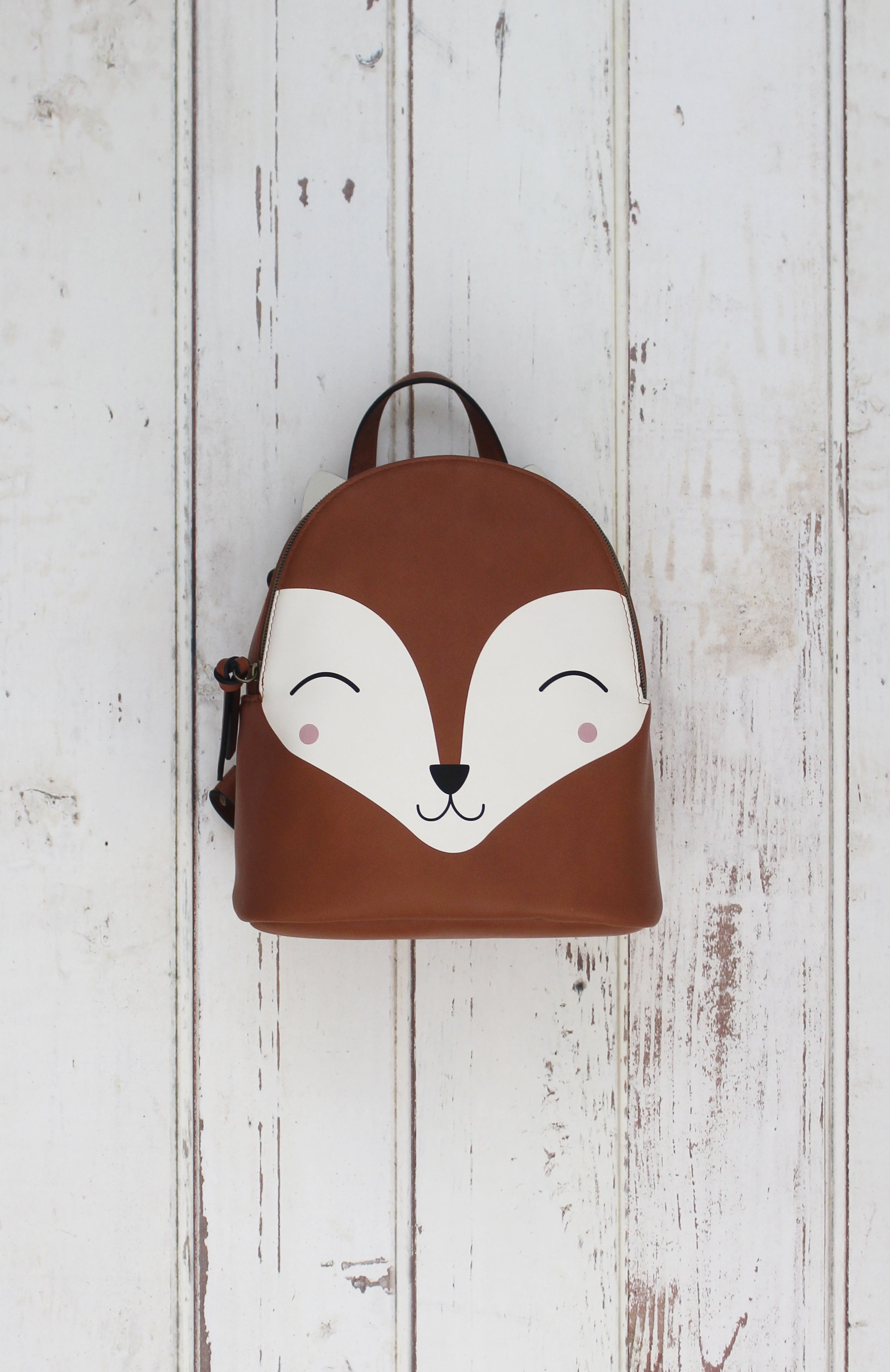 Fox Backpack in Brown