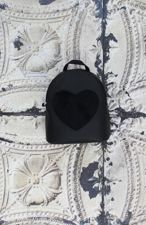 Love Furever Backpack in Black