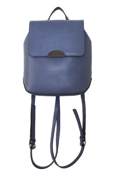 Flap Backpack In Blue