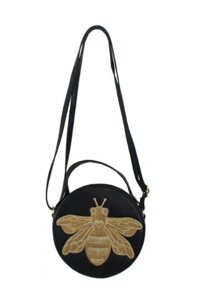 Caroline Canteen Crossbody in Black