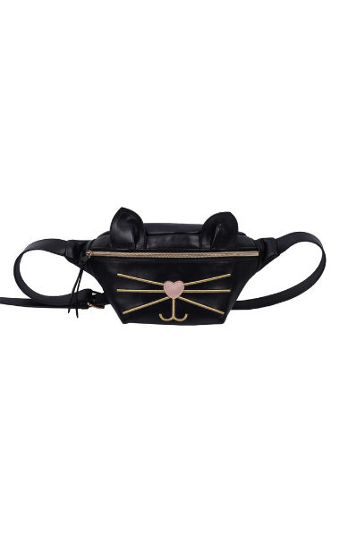 Dutchess Belt Bag in Black