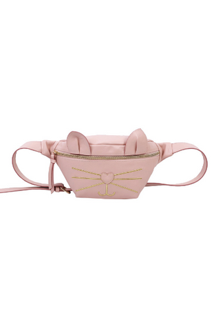 Olivia Belt Bag in Black Cat