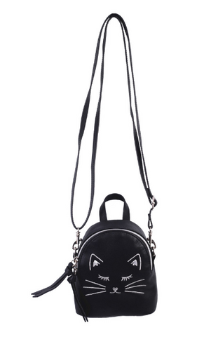Right Meow Belt Bag in Black