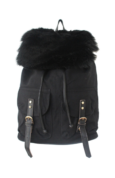 Woodside Bloom Backpack in Black