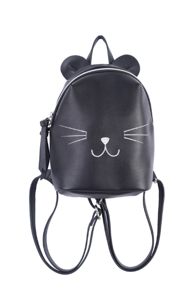 Micro Cat Backpack in Black