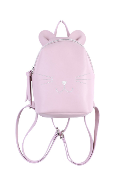 Micro Cat Backpack in Pink