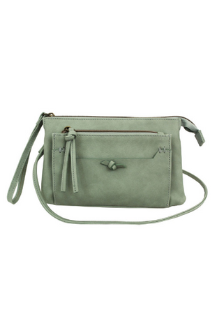 Zip Around Wallet in Mint