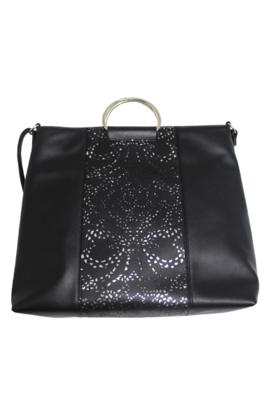 Dreamsicle Ring Tote in Black