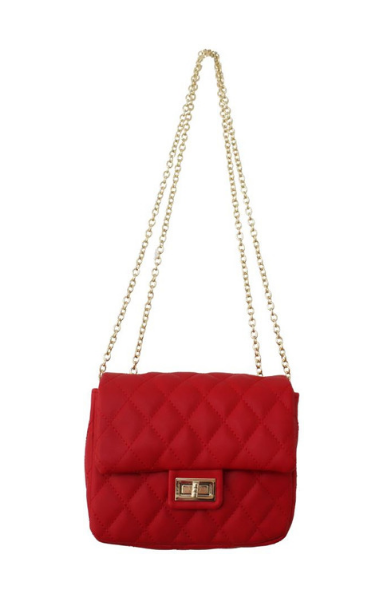 Charlotte Crossbody in Red