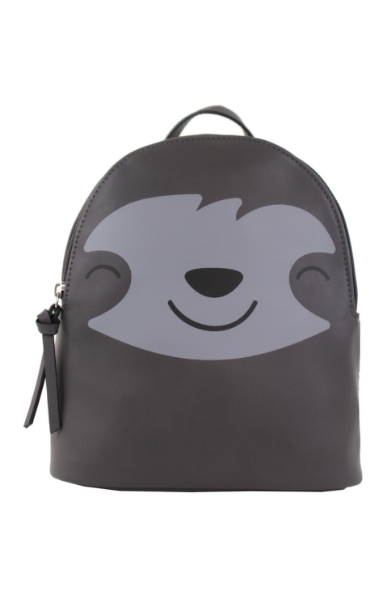 Sloth Backpack in Grey