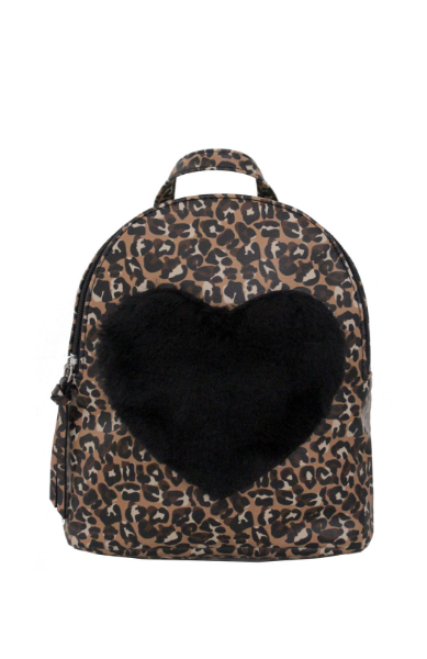 Love Furever Backpack in Leopard