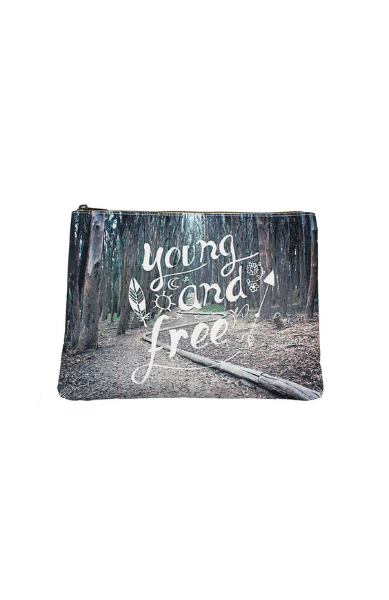 Young and Free Cosmetic Bag