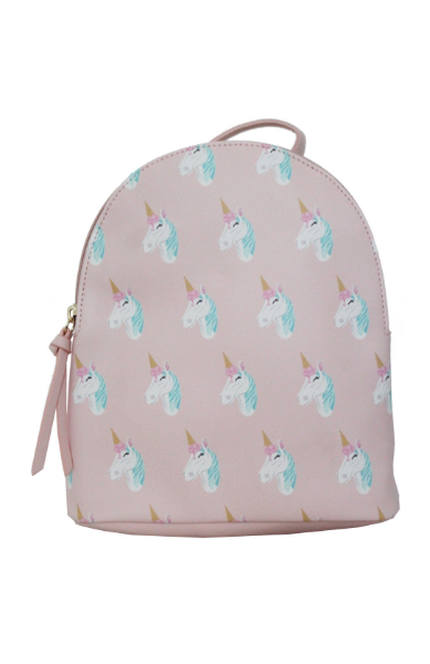 Ice Cream Pony Backpack in Pink